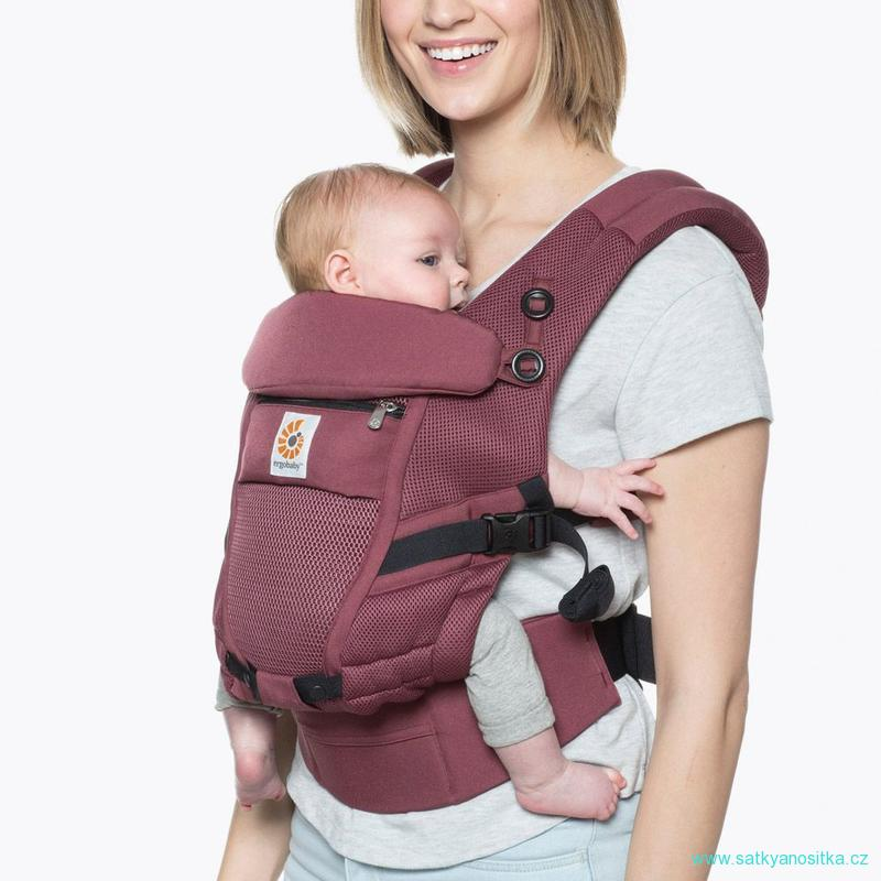 Ergobaby ADAPT COOL AIR MESH - PLUM - JA