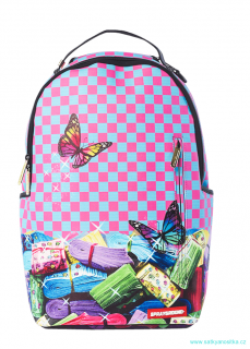 batoh SPRAYGROUND - Rainbow stacks