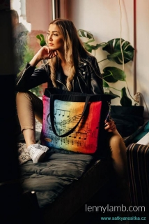Lennylamb Big Handbag - MY WORLD - SYMPHONY RAINBOW DARK